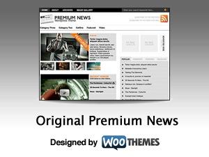 Original Premium News WordPress magazine theme