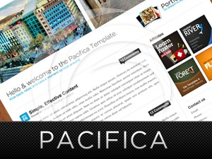 Pacifica personal WordPress theme