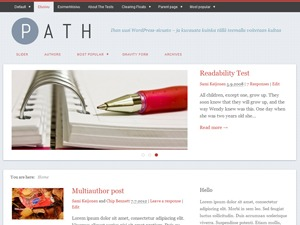 Path best WordPress magazine theme