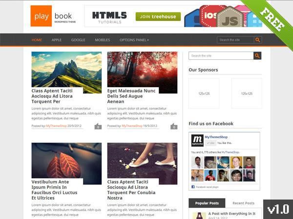 Playbook WordPress ecommerce theme