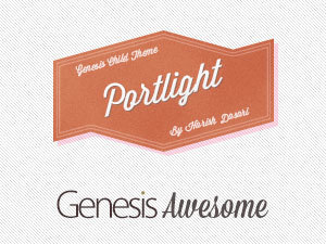Portlight WordPress page template
