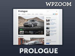 Prologue premium WordPress theme