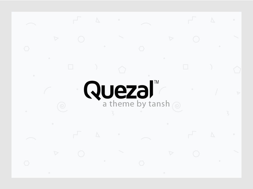 Quezal WP template