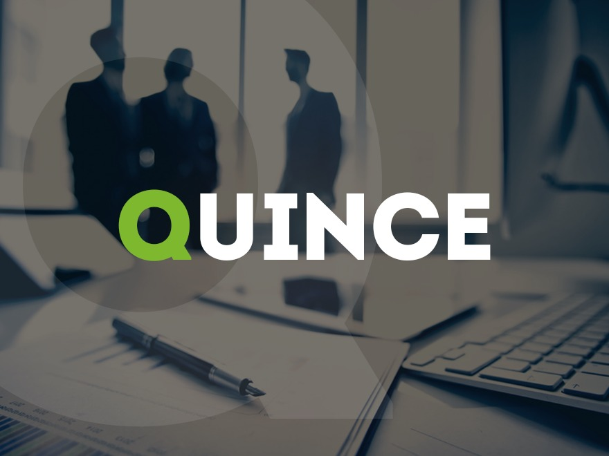 Quince WordPress template for business