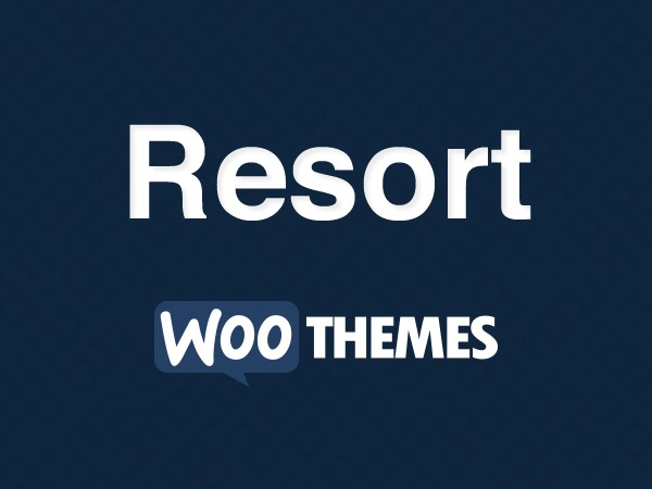 Resort best WordPress template