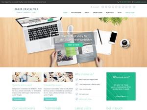 Rocco WordPress website template