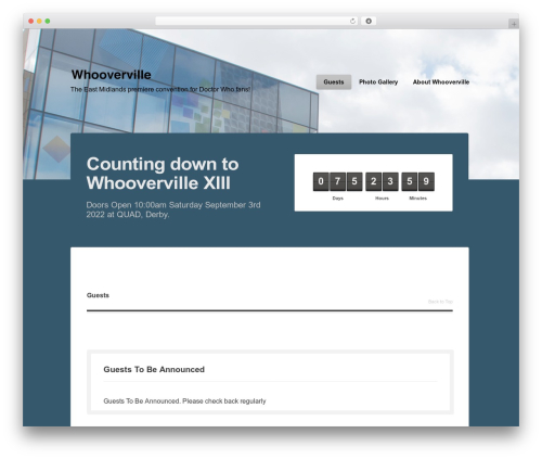 Rocketick WP template - whooverville.org