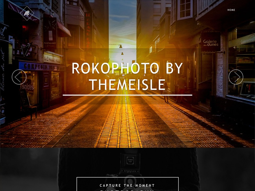 RokoPhoto WordPress theme image
