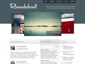 Roundabout best WordPress template