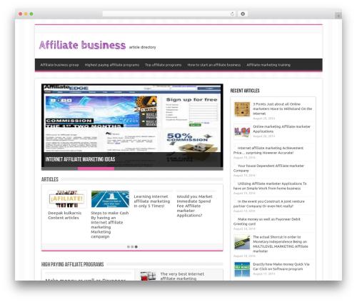 Sahifa WordPress template for business - wildlifedetectiondog.com