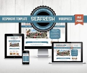 Seafresh WordPress theme