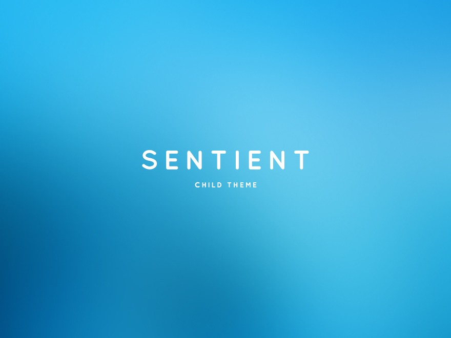 Sentient Child WordPress theme
