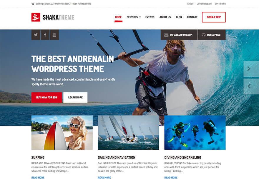 Shaka PT theme WordPress