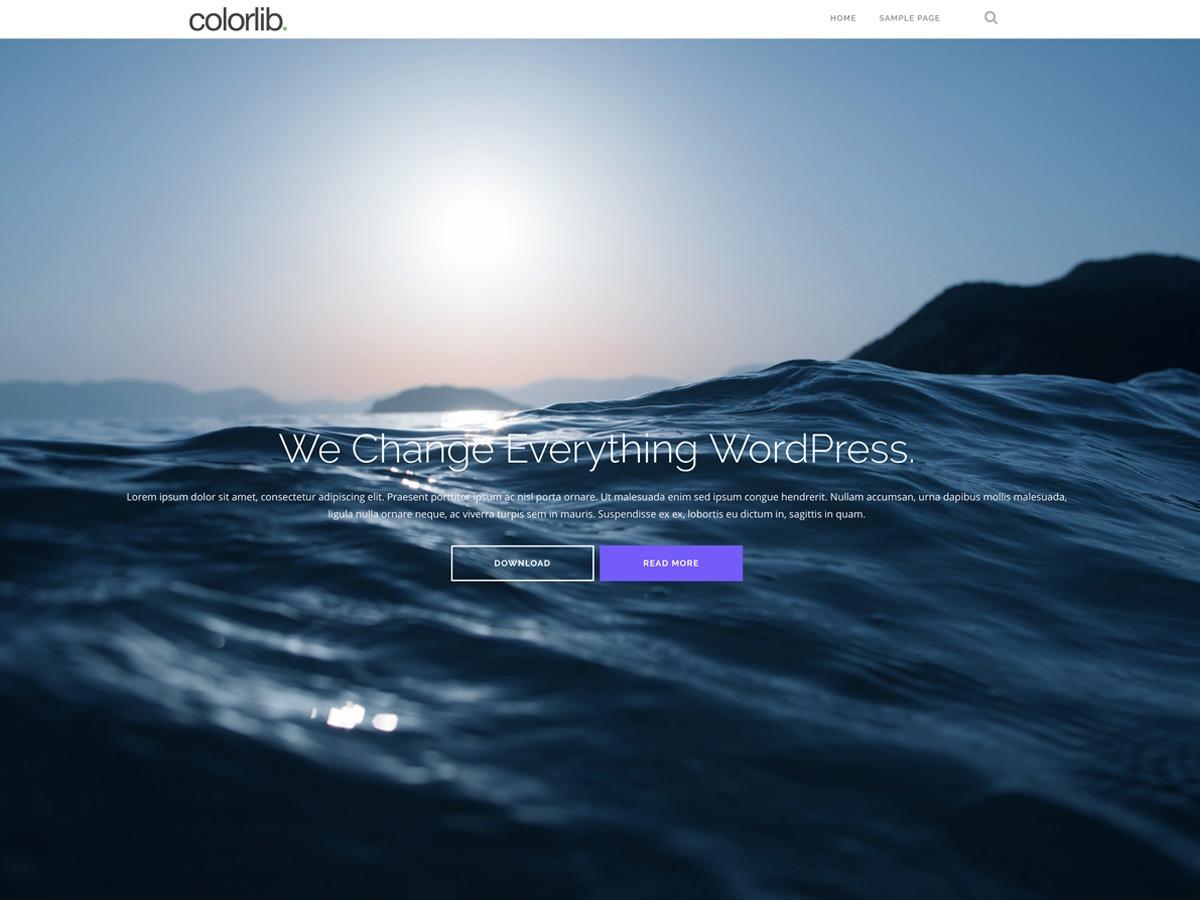 Shapely best free WordPress theme