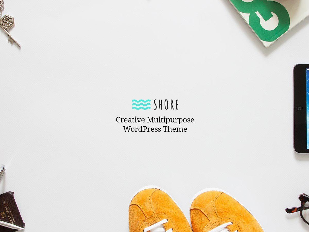 Shore top WordPress theme