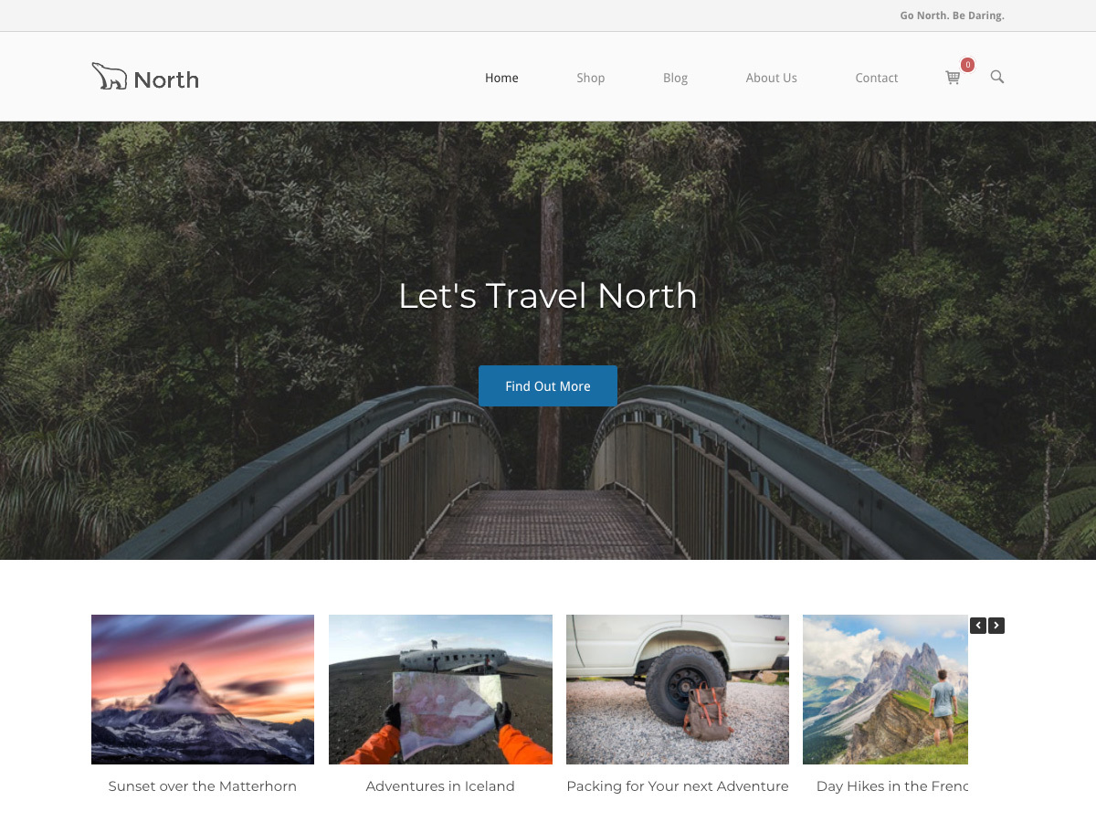 SiteOrigin North free WP theme