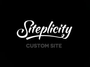 Siteplicity Custom v2 WordPress theme