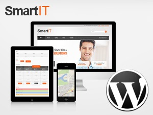 Smart IT company WordPress theme