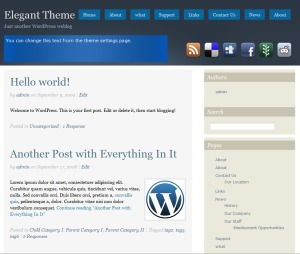 Social premium WordPress theme