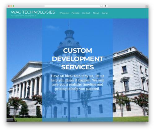 Split WordPress theme - wagtech.us