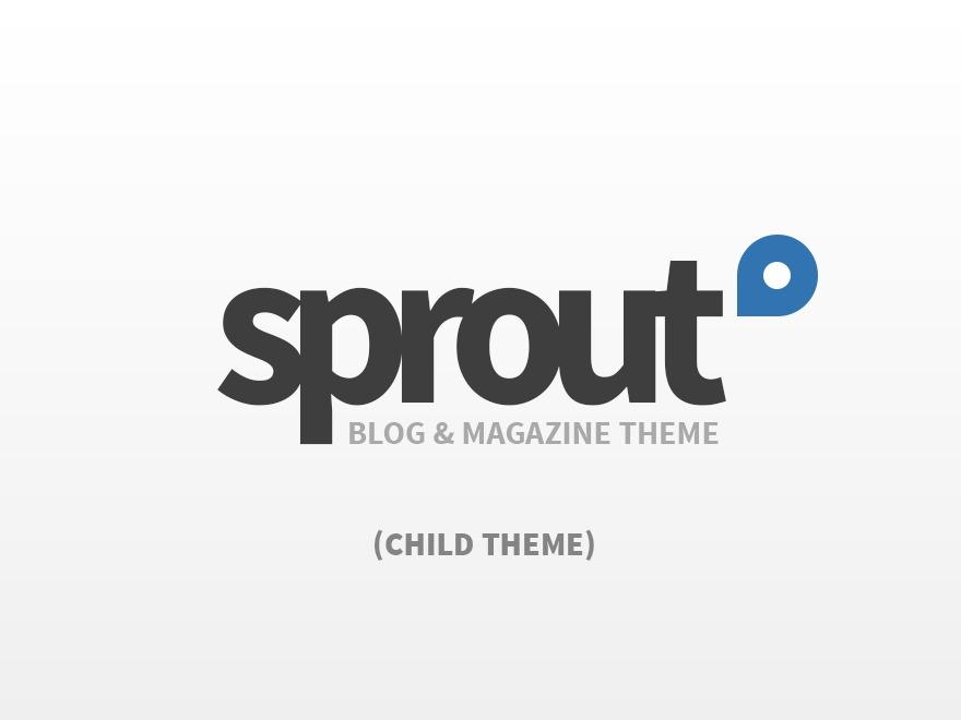 Sprout - Child WordPress magazine theme