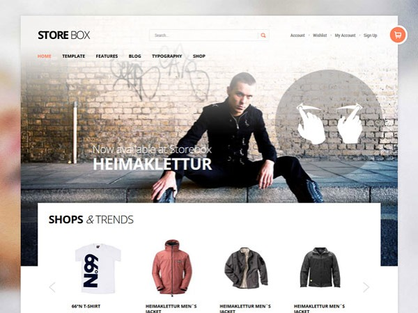 StoreBox WordPress shop theme