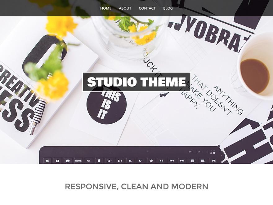 Studio free WordPress theme