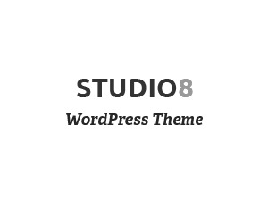 Studio8 photography WordPress theme