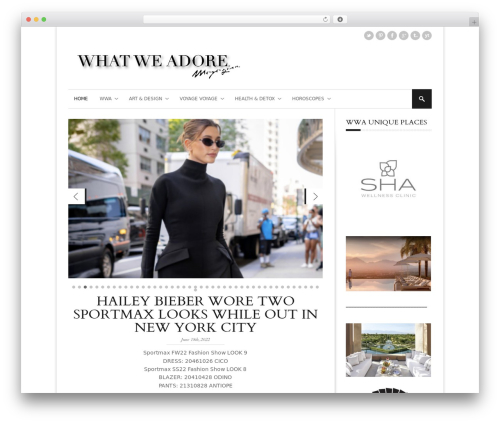 StyleMag theme WordPress - whatweadore.com