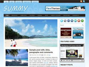 Summy WordPress theme