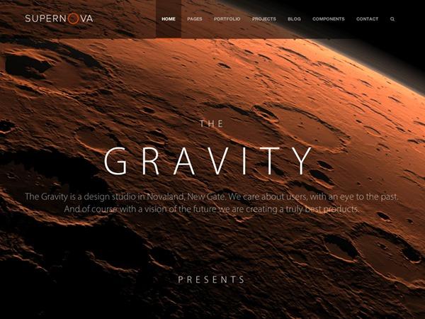 Supernova - Multi-Purpose Theme WordPress blog template