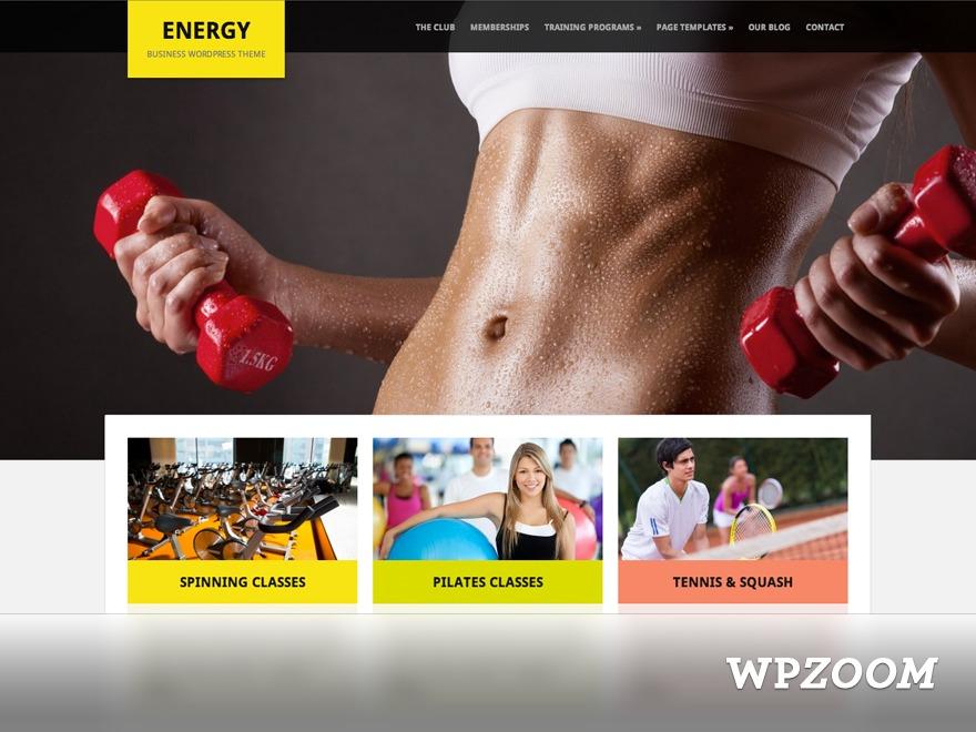 Template WordPress energy