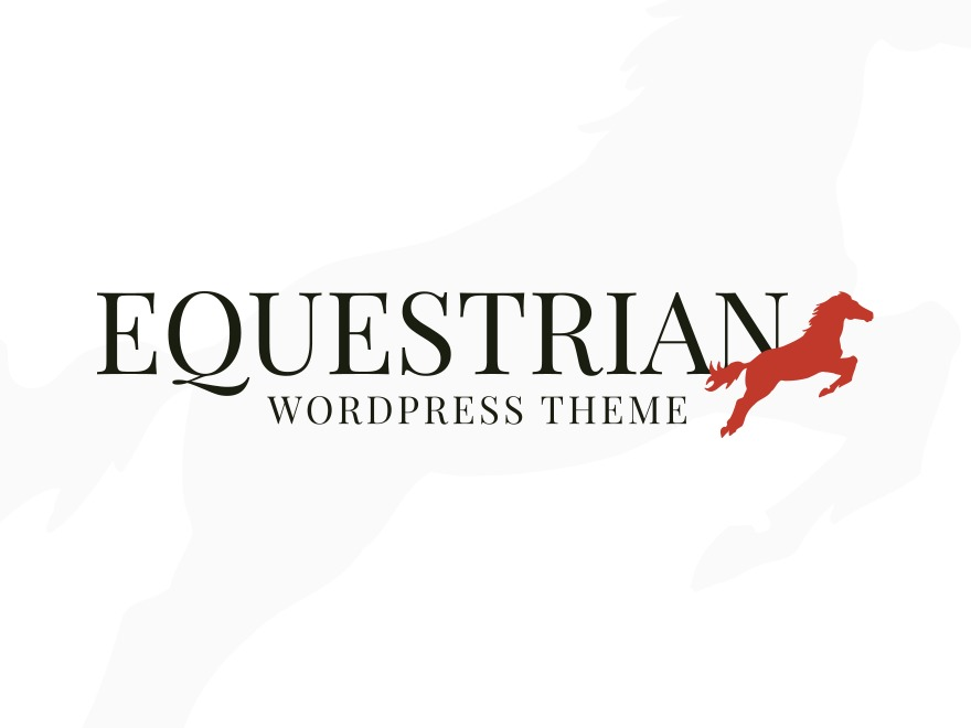 Template WordPress Equestrian