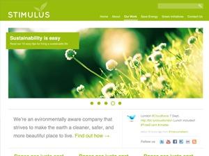 Template WordPress Green Stimulus