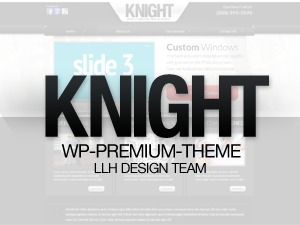 Template WordPress Knight Theme LLH 2.1.0.3