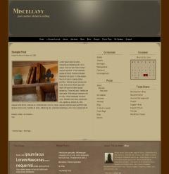 Template WordPress Miscellany