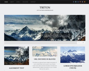 Template WordPress Triton Lite