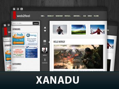 Template WordPress Xanadu