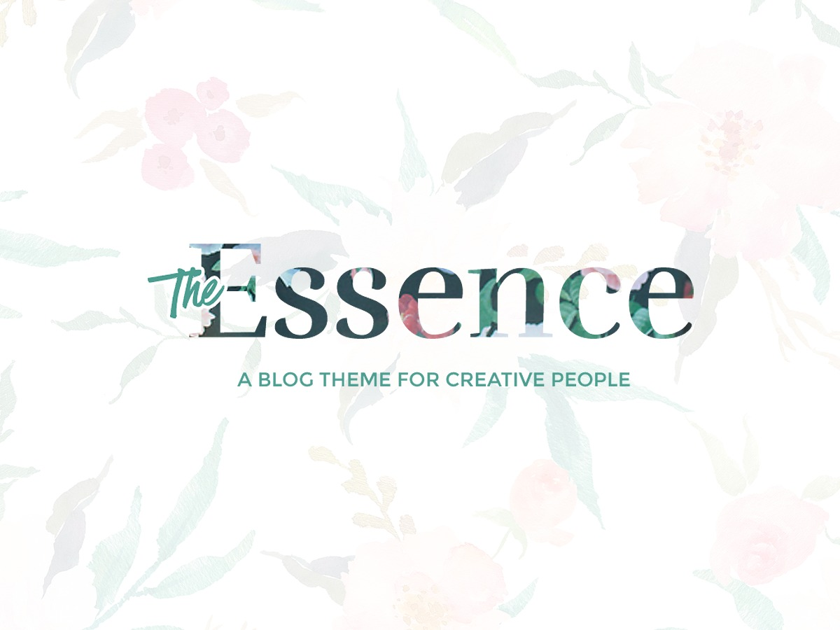 The Essence WordPress blog theme