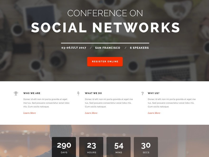 The Keynote theme WordPress