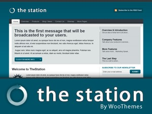 The Station template WordPress