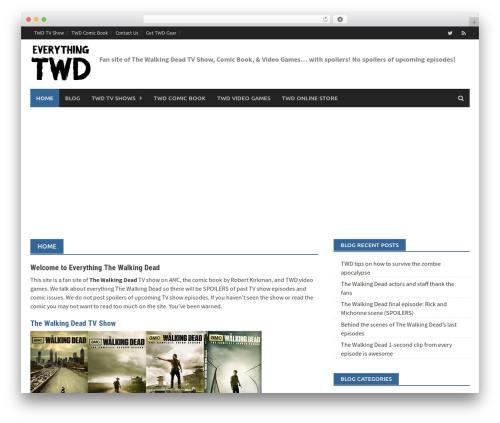 Theme WordPress Awaken Pro - walking-dead.bostonianadam.com