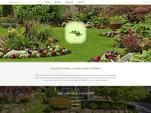 Theme WordPress Land 2 - V8