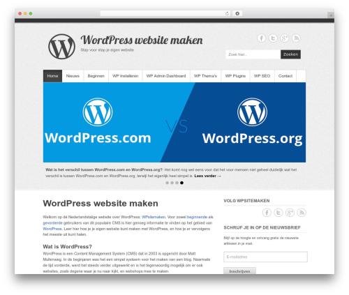 Theme WordPress Simple Catch Pro - wpsitemaken.nl