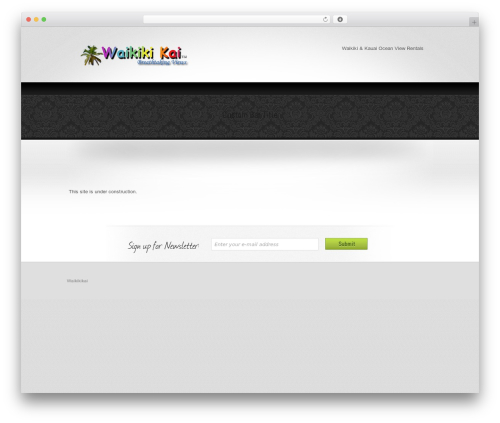Theme WordPress Welcome Inn - waikikikai.com