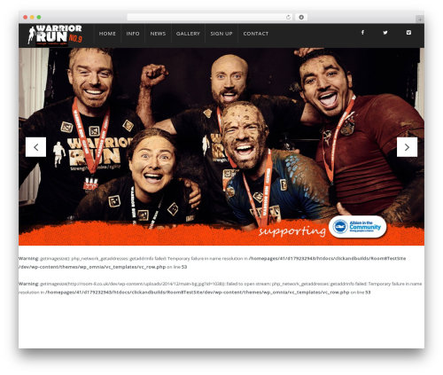 Theme WordPress WP Omnia - warrior-run.co.uk