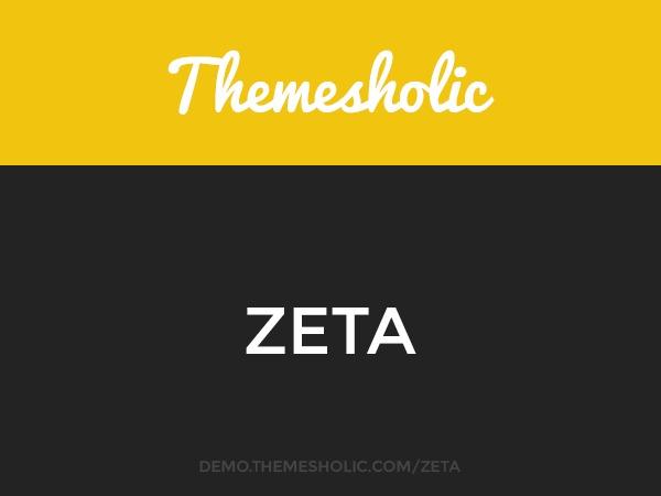 Theme WordPress Zeta
