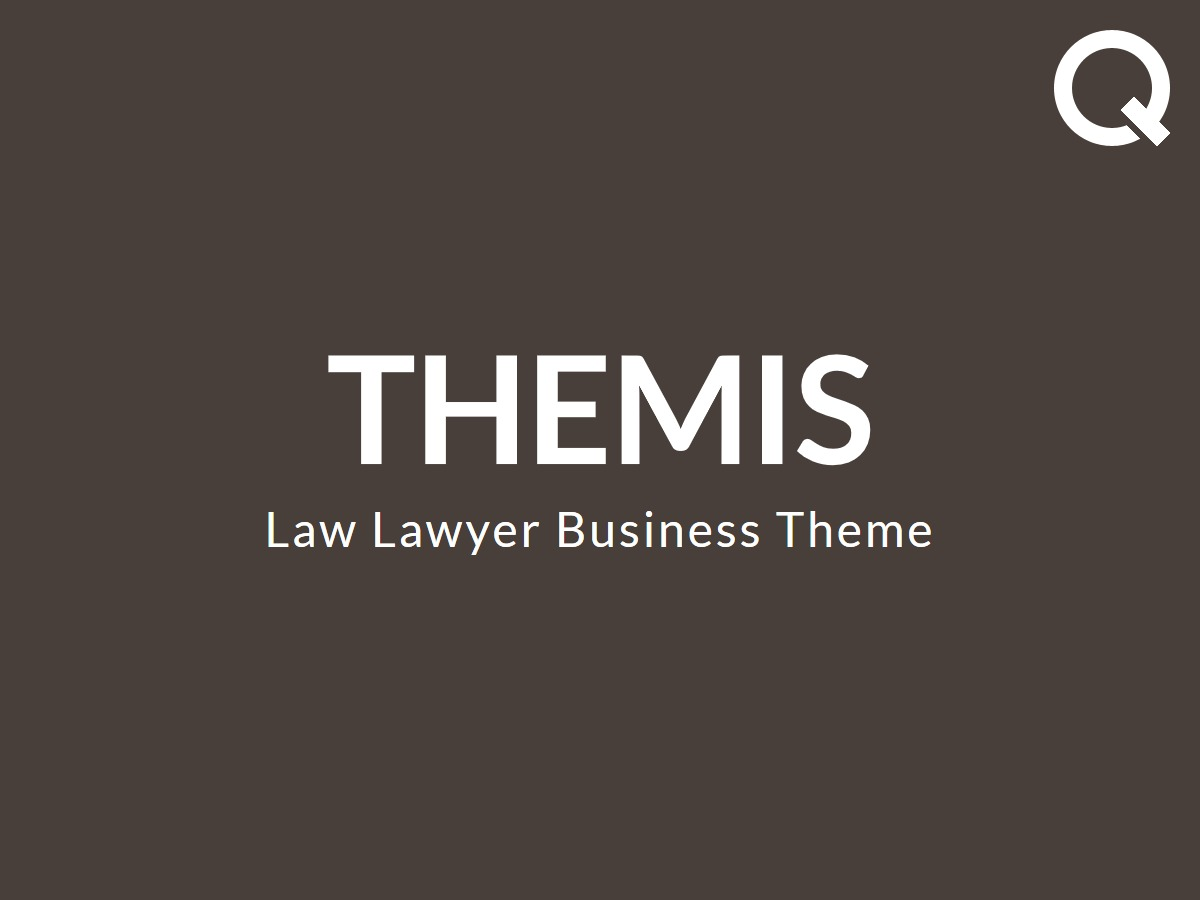Themis - Law Lawyer Business WordPress Theme business WordPress theme