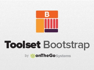 Toolset Bootstrap WordPress template