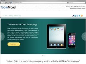 ToomMorel Pro company WordPress theme